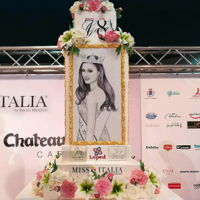 Miss Italy Story Cake Miss Italia Story Cake created for the 78th edition of Miss Italia 2017. The cake symbolizes the history of the various Miss Italy from...