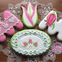 Mother'S Day Cokkies It might be a little bit early for some other countries but it's Mother's Day on March 11 in UK. And tulip is one of my...