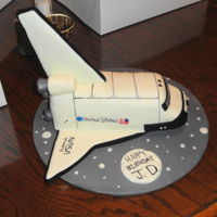 Space Ship A NASA Spaceship birthday cake
