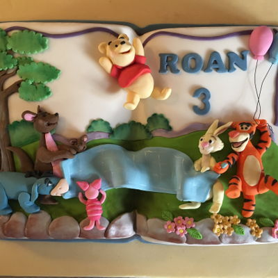 A Pooh Cake For Our Little Boy