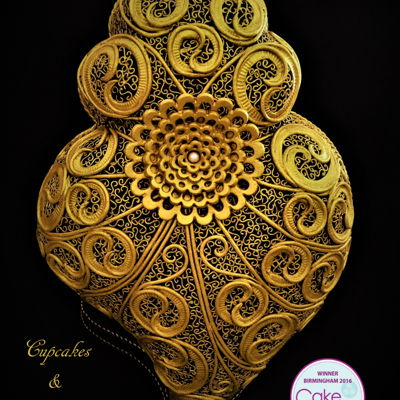 Cake International Birmingham 2016 Heart Of Viana Filigree - Gold Medal