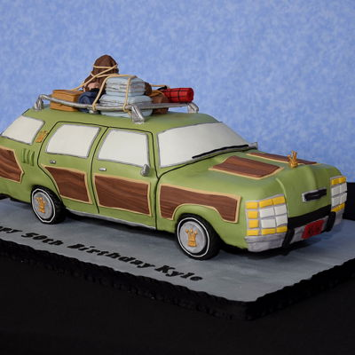 National Lampoon Vacation 50Th Birthday Cake