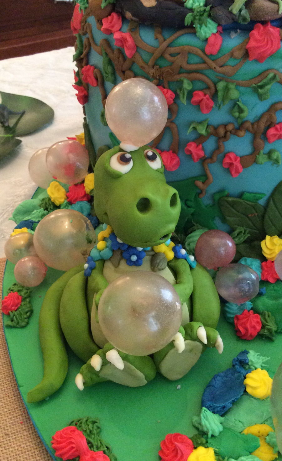 Baby Dinosaur Baby Shower Cake Cakecentral Com