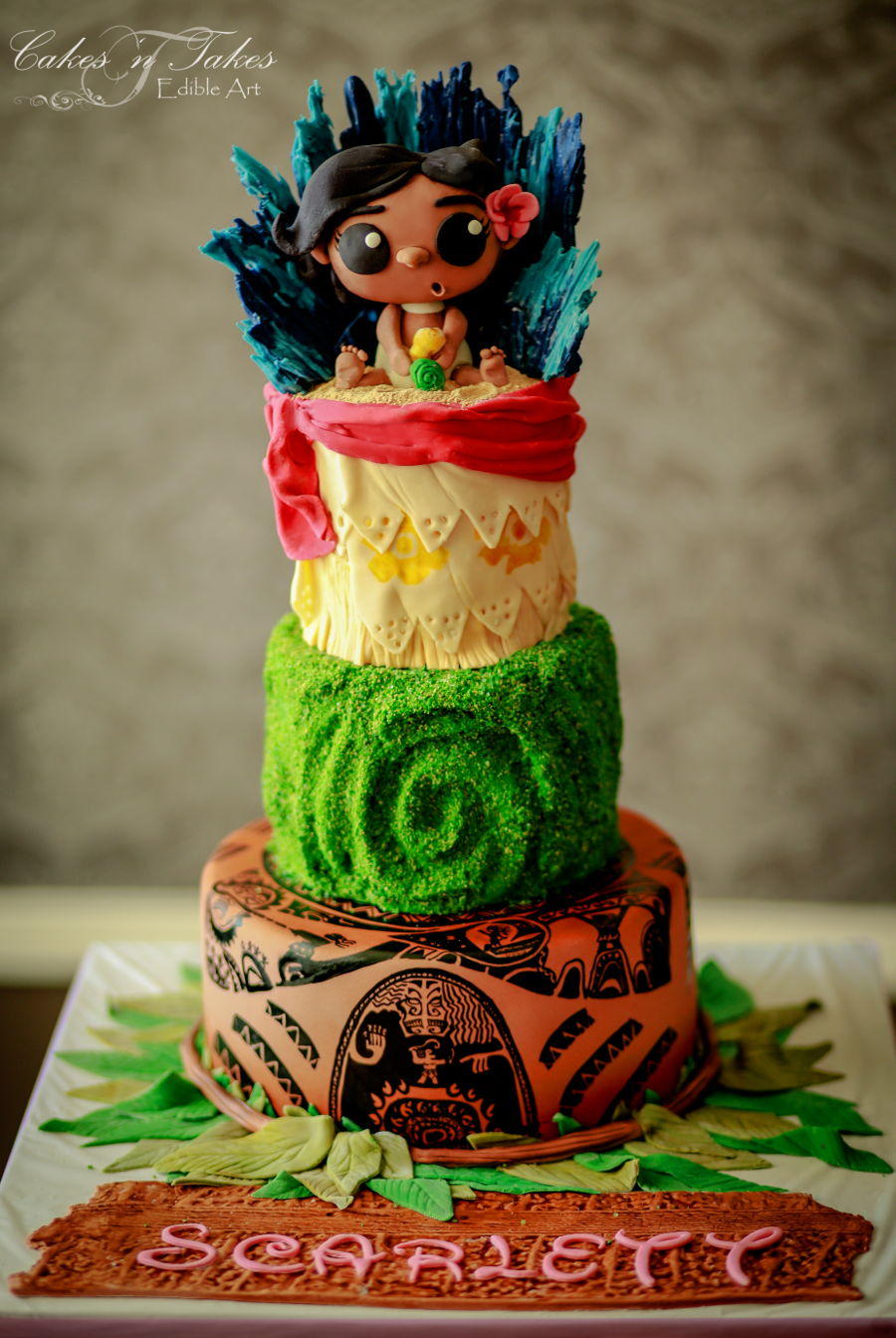 Baby Moana Cakecentral Com
