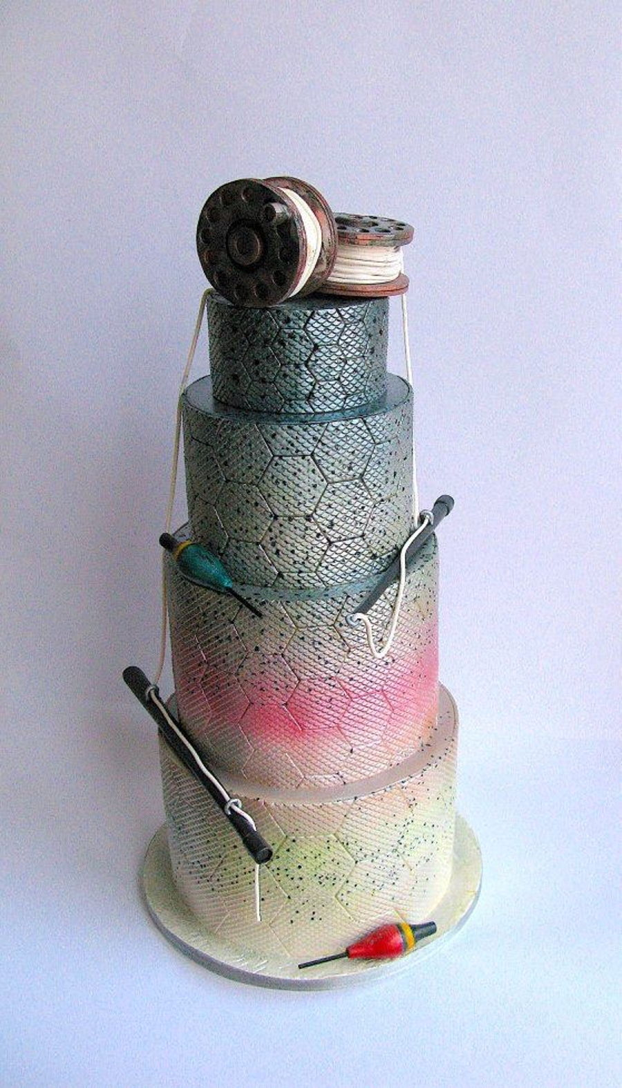 Fishing Themed Cake on Cake Central