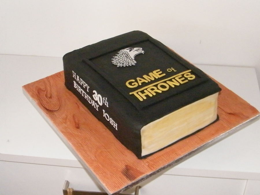 Game Of Thrones Book on Cake Central