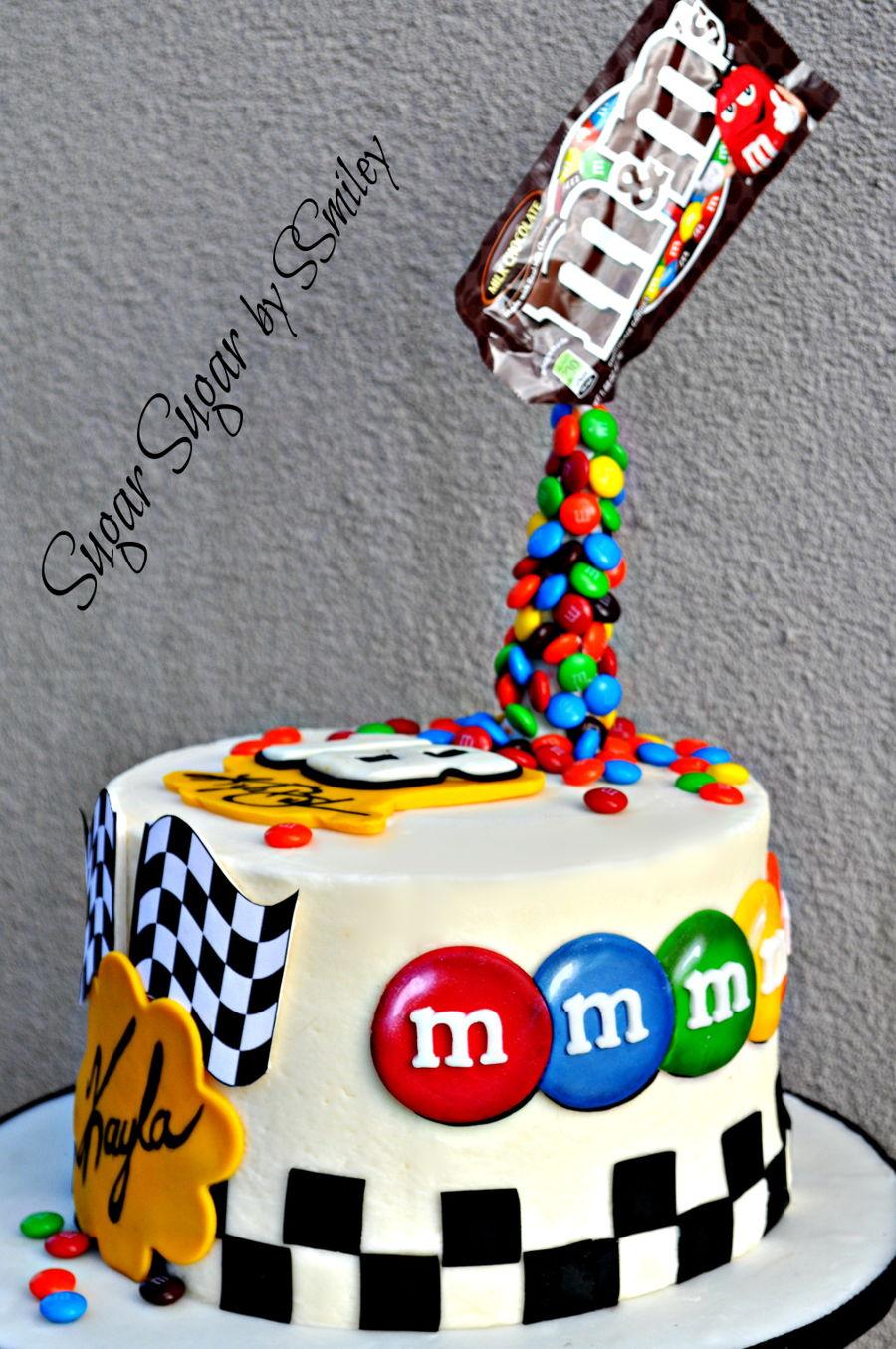 Kyle Busch Nascar Birthday Cake Cakecentral Com