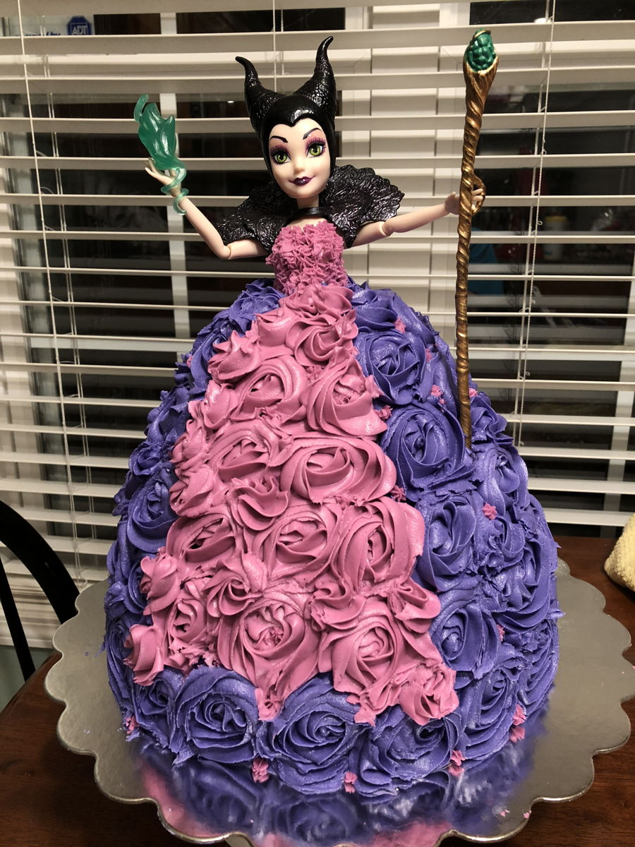 Maleficient Birthday Cake on Cake Central
