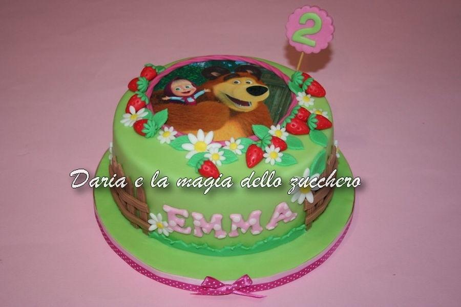 Masha The Bear Cake Cakecentral
