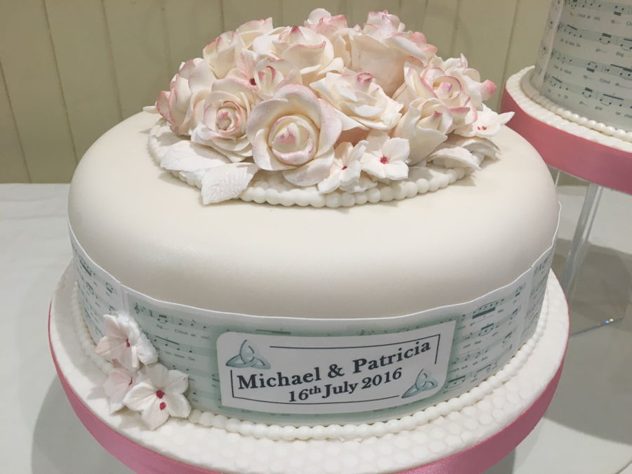 Music Themed Wedding Cake Cakecentral