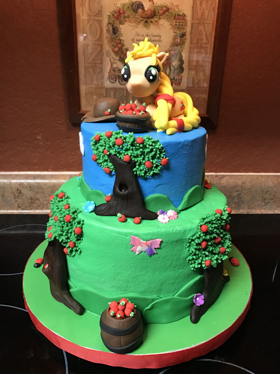 My Little Pony Applejack Cakecentral Com