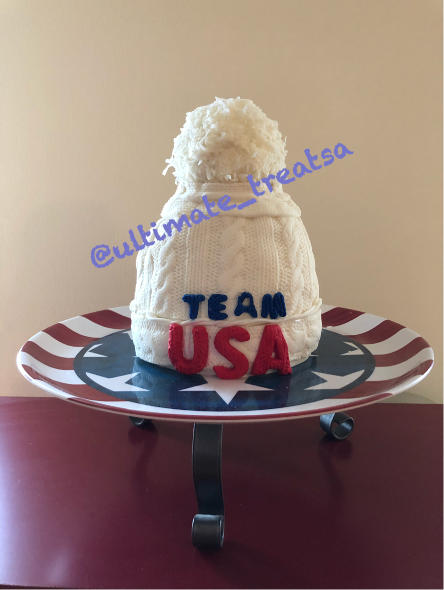 Olympic Ski Hat on Cake Central