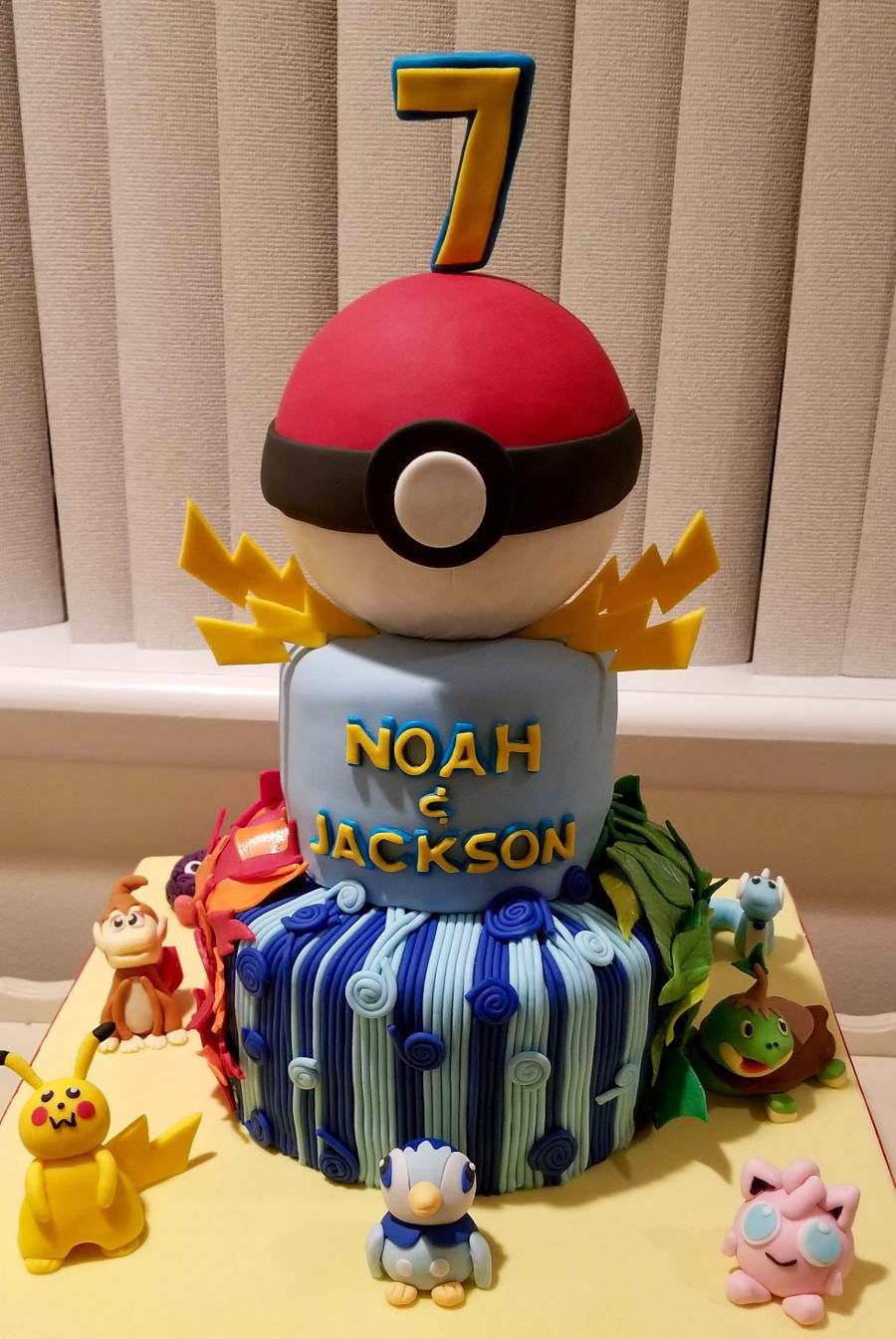 Did This For Twin Seven Year Old Boys All Fondant