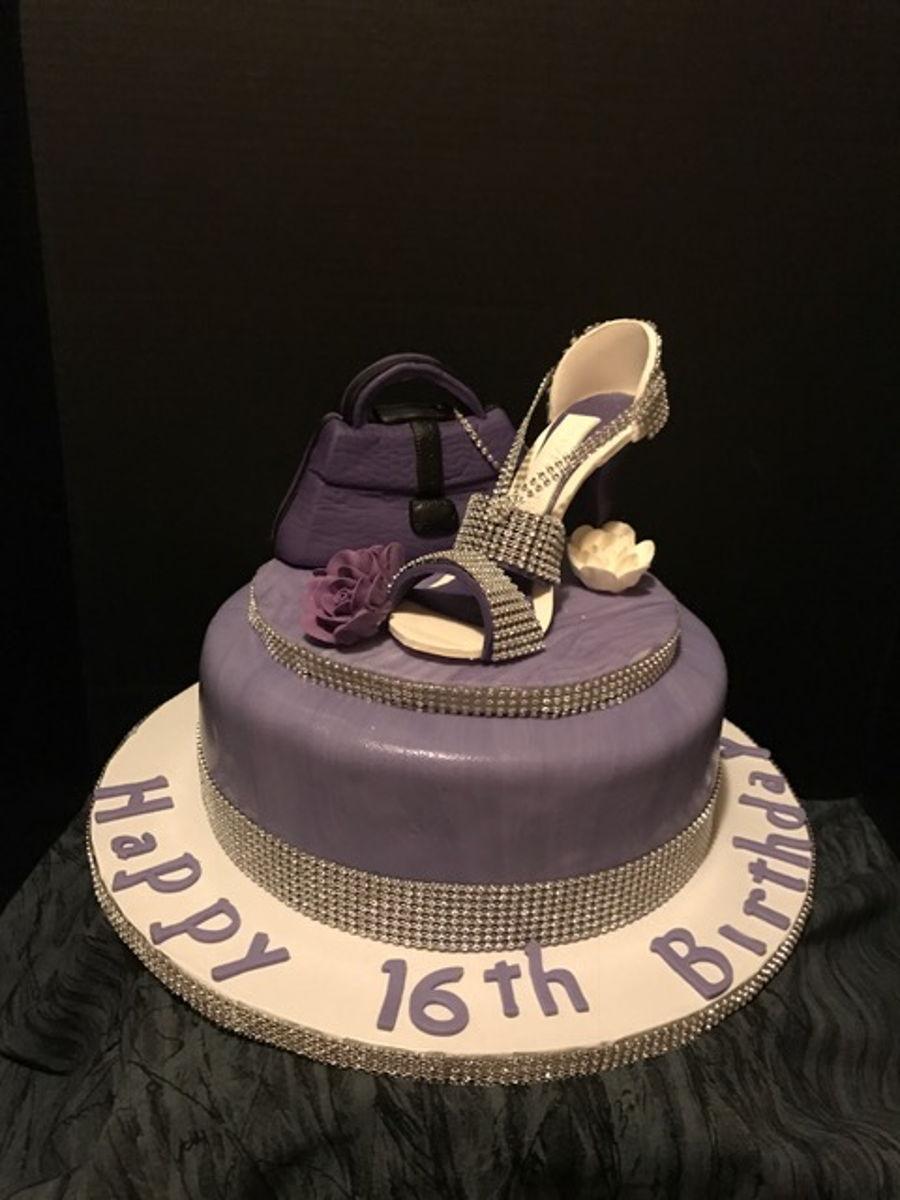 Sweet Sixteen Theme Cake
