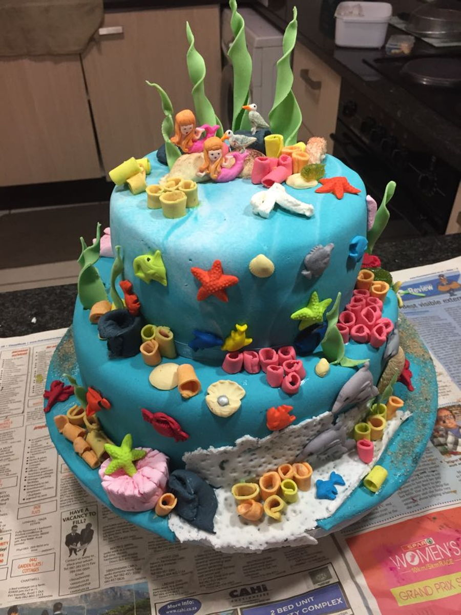 Under Water Theme on Cake Central