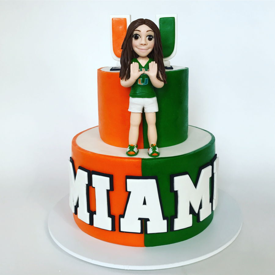 University Of Miami Cake CakeCentralcom