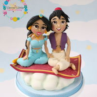 Aladdin Cake Topper Made for a customer making her own cake