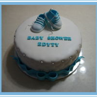 Baby Shower baby shoes