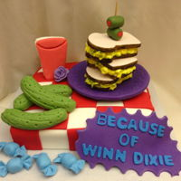 Because Of Winn Dixie Cake Because of Winn Dixie cake