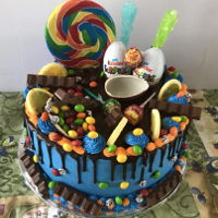 Candy Land chocolate drip
