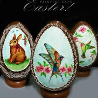 Hand Painted Easter Eggs Hand Painted Easter Eggs