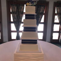 Vow Celebration Cake I donated this cake for a Sister's Final Vow to enter her order. She was younger and only asked for purple/ivory color and tulips so I...
