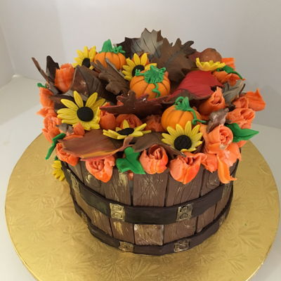 Adsc- Fall Harvest Barrel Cake