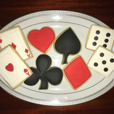 Playing Cards Cookies