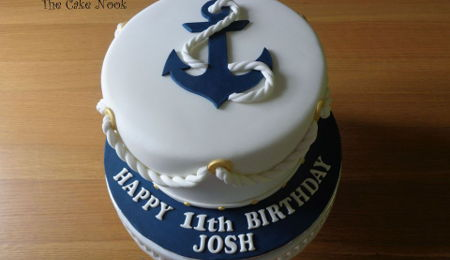 Peachy Anchor Cake Decorating Photos Funny Birthday Cards Online Alyptdamsfinfo