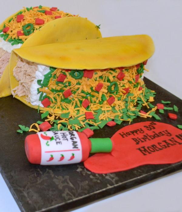 Tacos Cake Decorating Photos