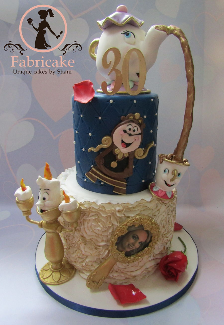 Beauty And The Beast Cake on Cake Central