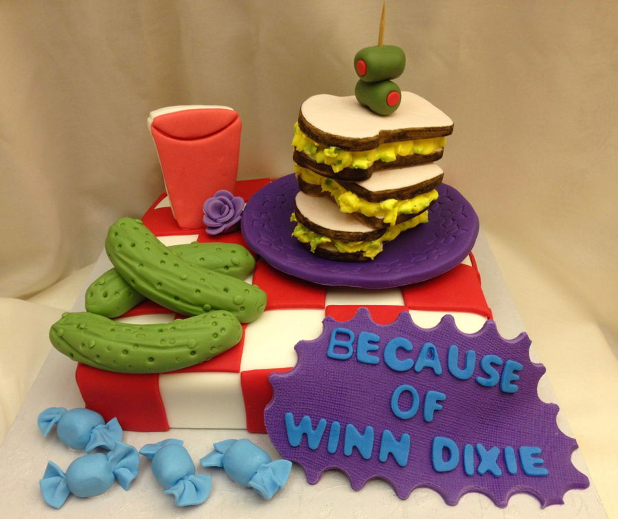Because Of Winn Dixie Cake CakeCentralcom