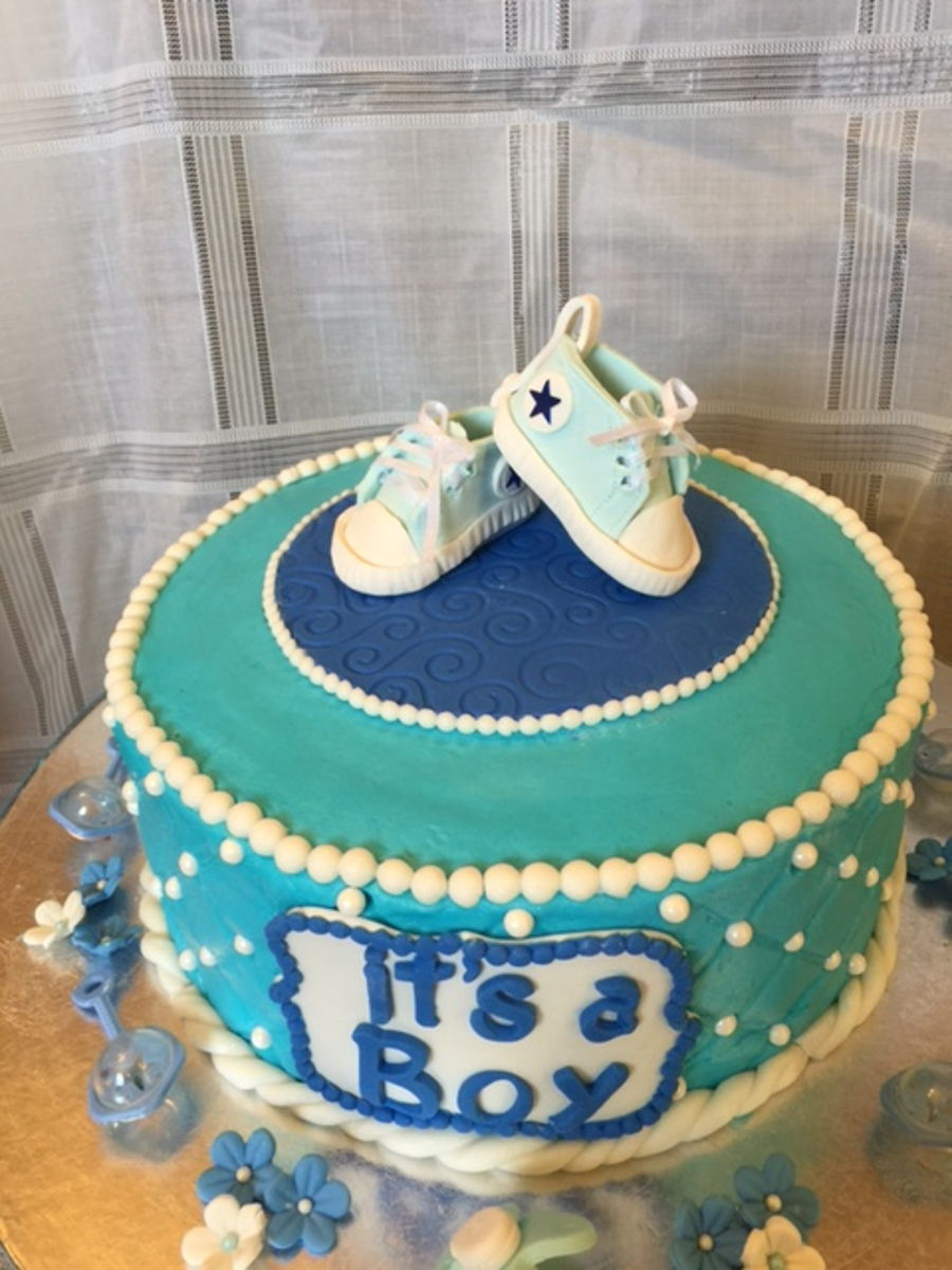 Converse Sneakers For Baby Boy on Cake Central