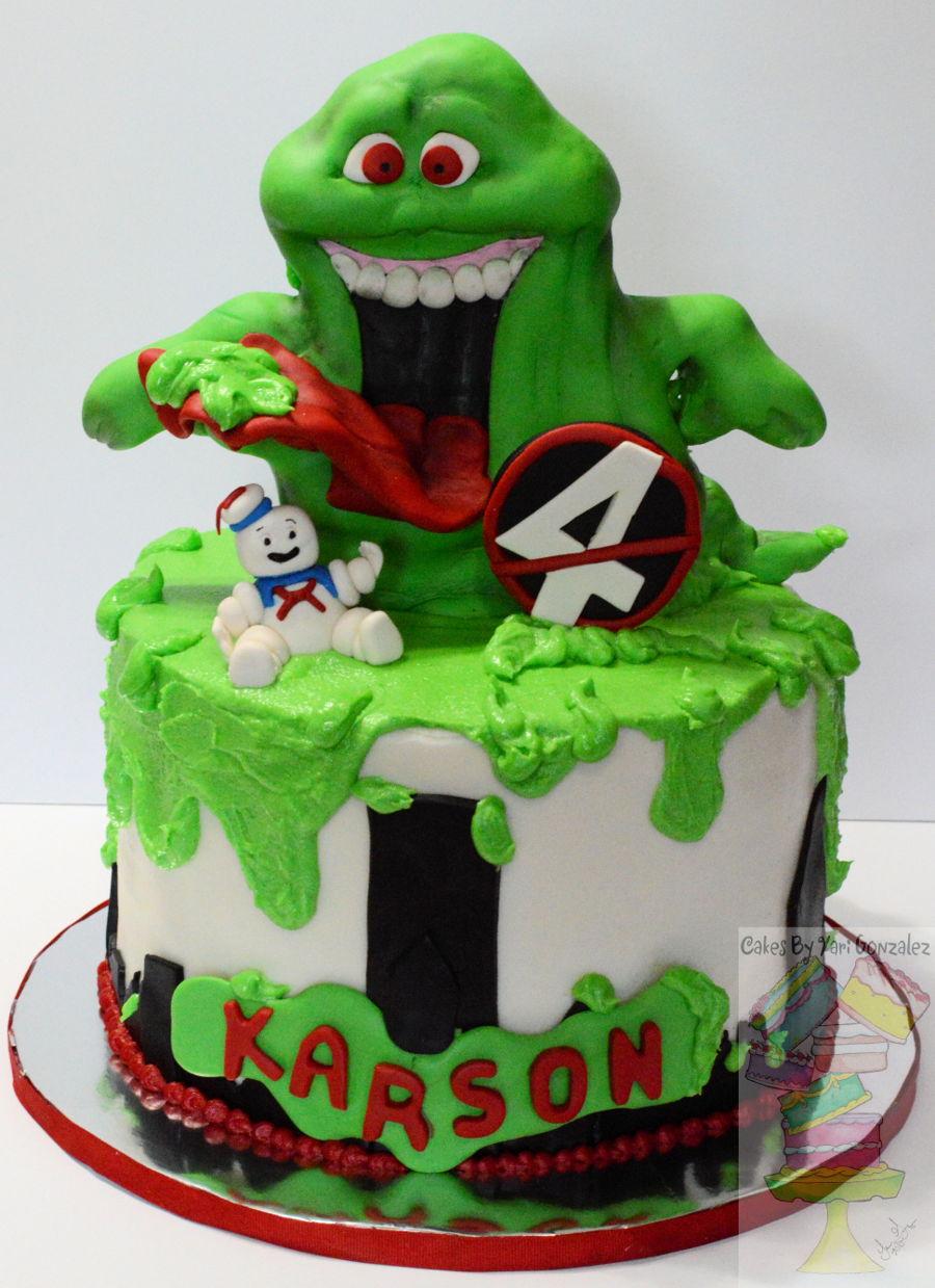 Tremendous Ghostbuster Cakecentral Com Funny Birthday Cards Online Alyptdamsfinfo