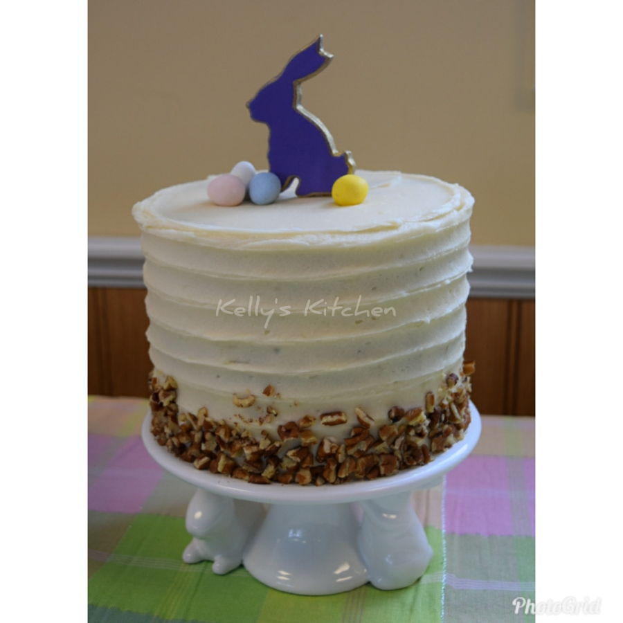 Simple Easter Cake on Cake Central