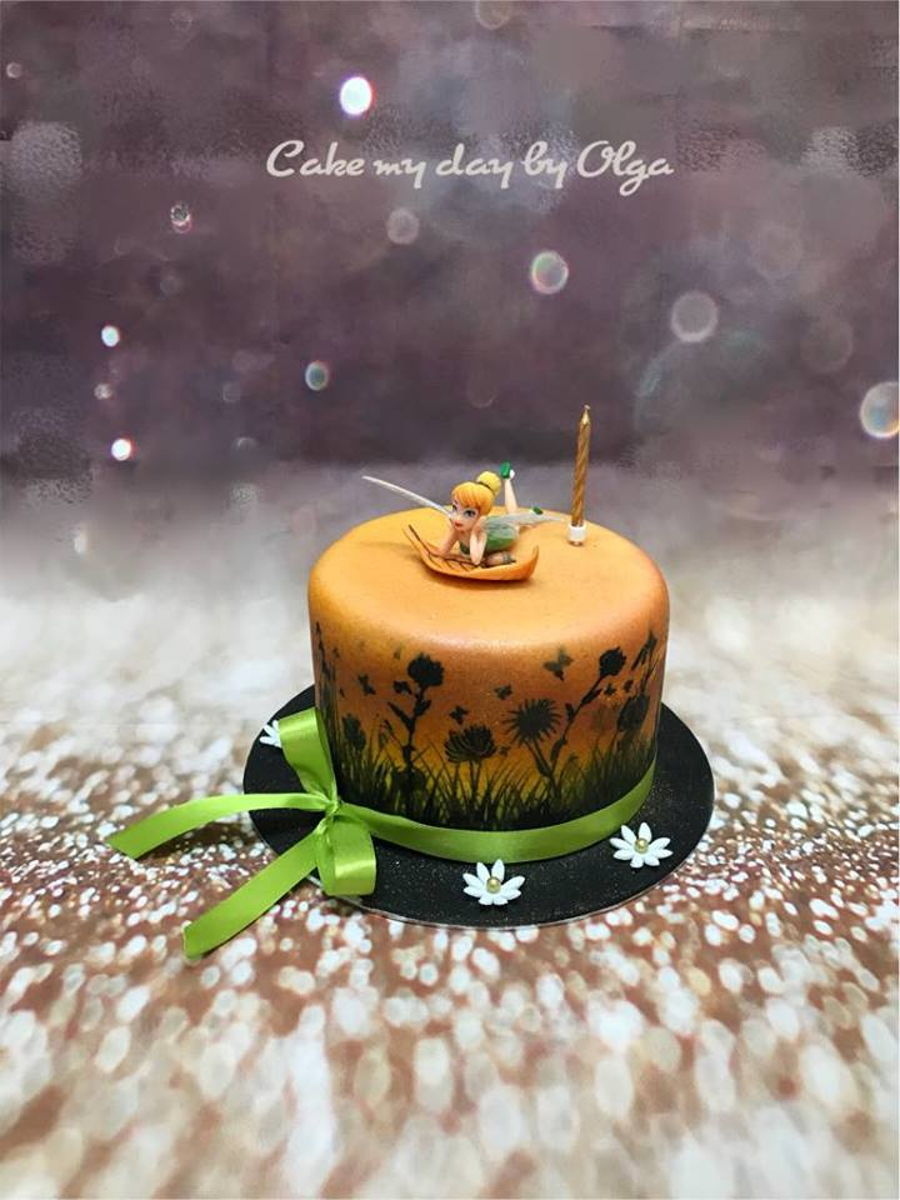 Tinkerbell Birthday Cake Ideas Cakecentral