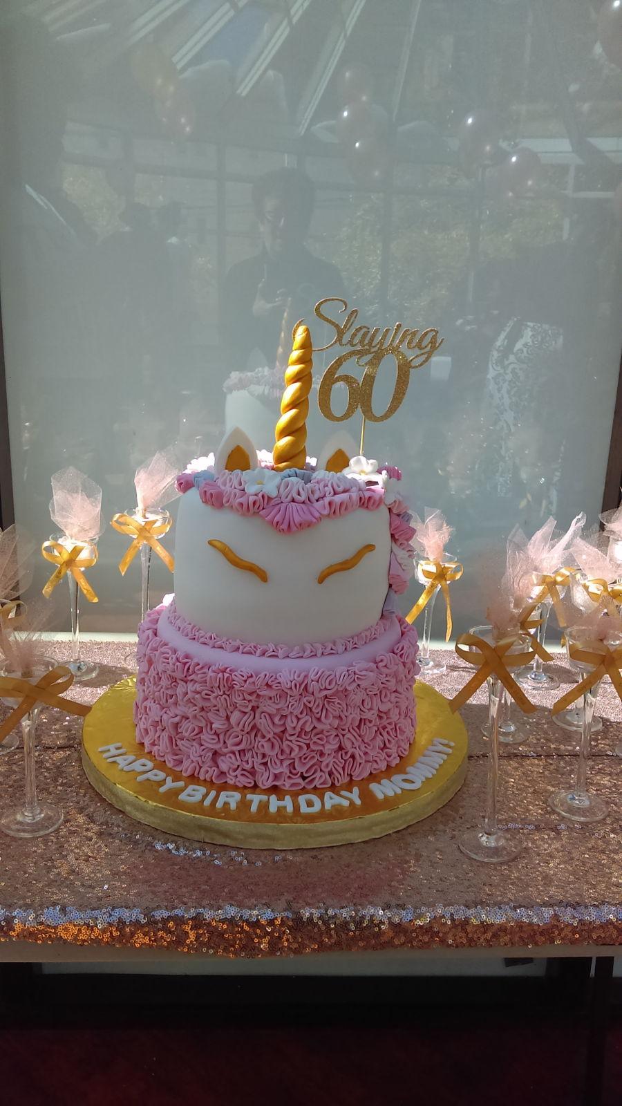 Virginias 60Th Birthday Cake CakeCentralcom