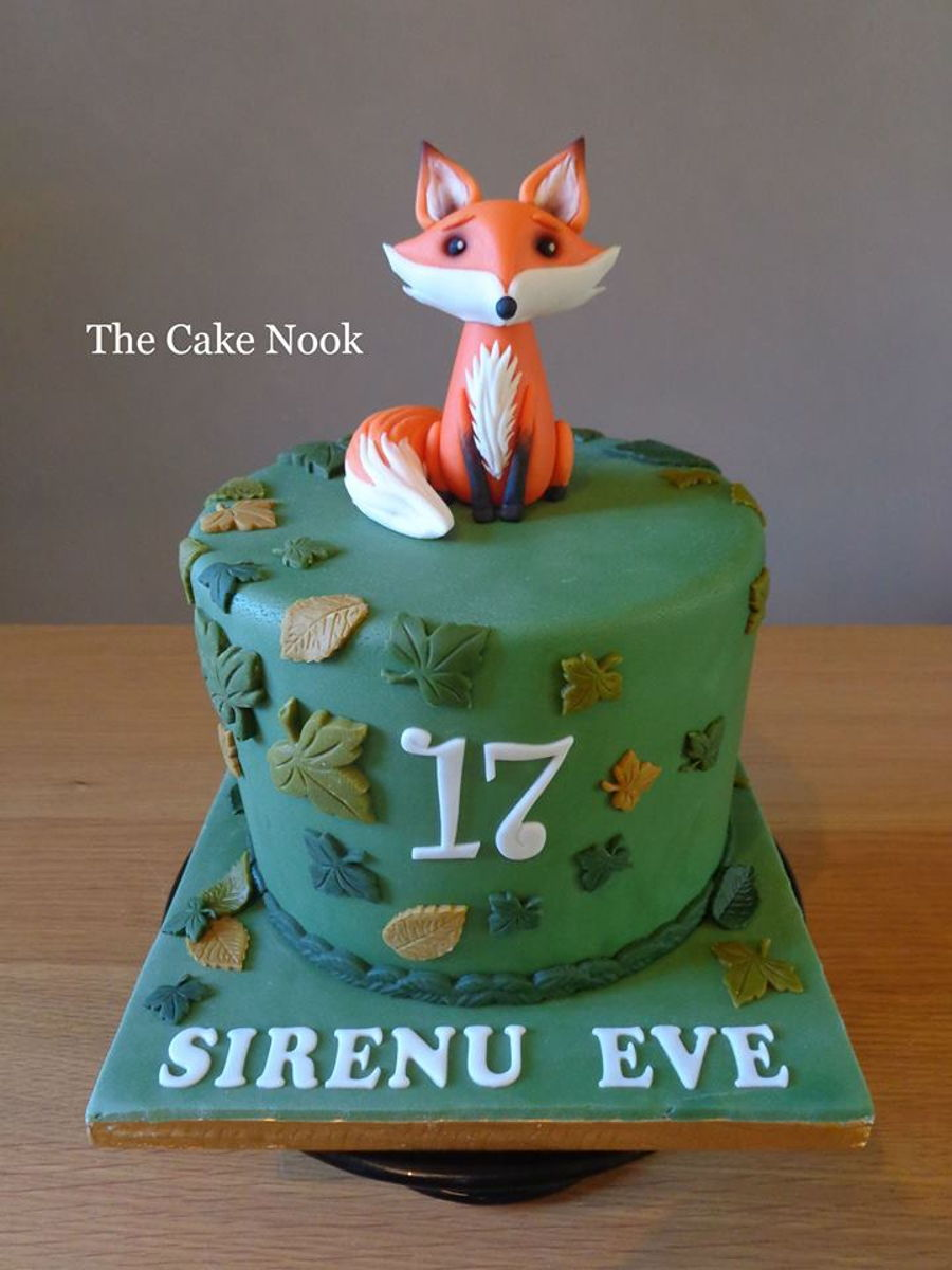 Woodland Fox Cake Cakecentral