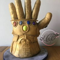 Avengers Ultimate Gauntlet Avengers ultimate gauntlet Chocolate fudge cake