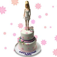 Barbie Cake Barbie Cake https://www.facebook.com/BAKERY-TREATZ-129972023694118/ www.bakerytreatz.com