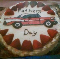 Father's Day Car Made all with frosting