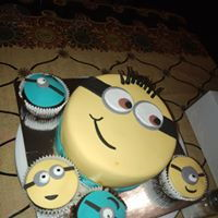 Minion Themed Cake Minion themed cake
