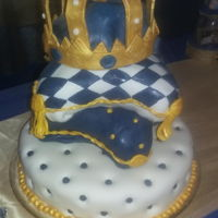 My King Pillows Choc. and almond cake