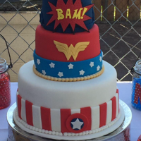 Super Hero Wedding Cake Super Hero wedding Cake