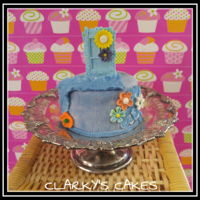 "Tiny Cake I just bought some new 4"" x 2"" cake tins and wanted to try them out. Good excuse to make a cake, right?? I also wanted..."