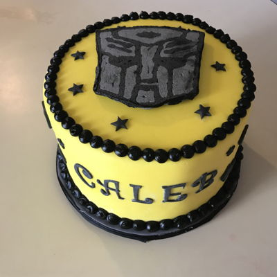 Transformer Cake By HGrissom Boys Birthday