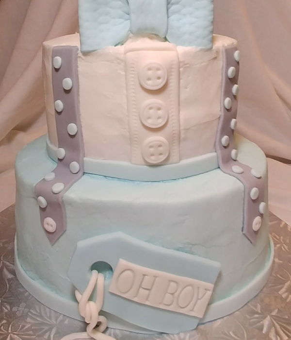 Baby Boy Blue Bow Tie Shower