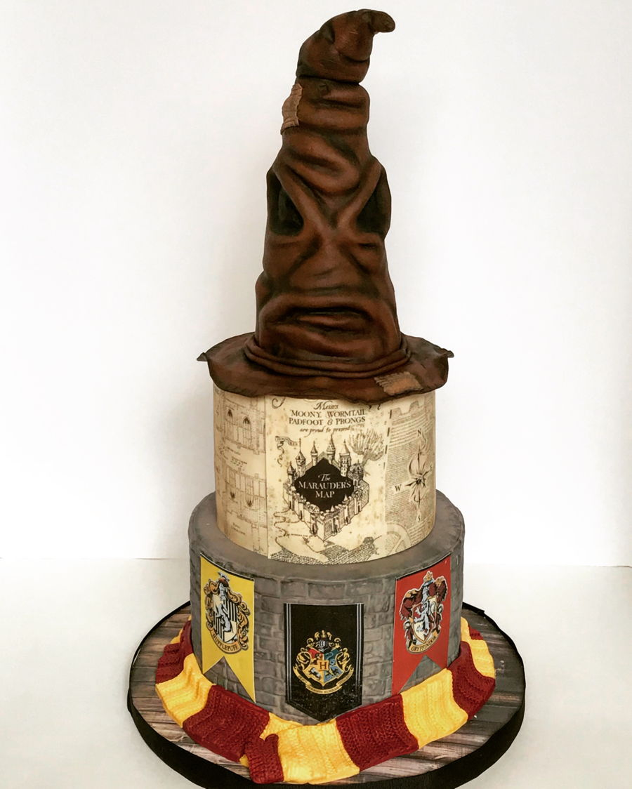 Another Harry Potter Cake - CakeCentral.com