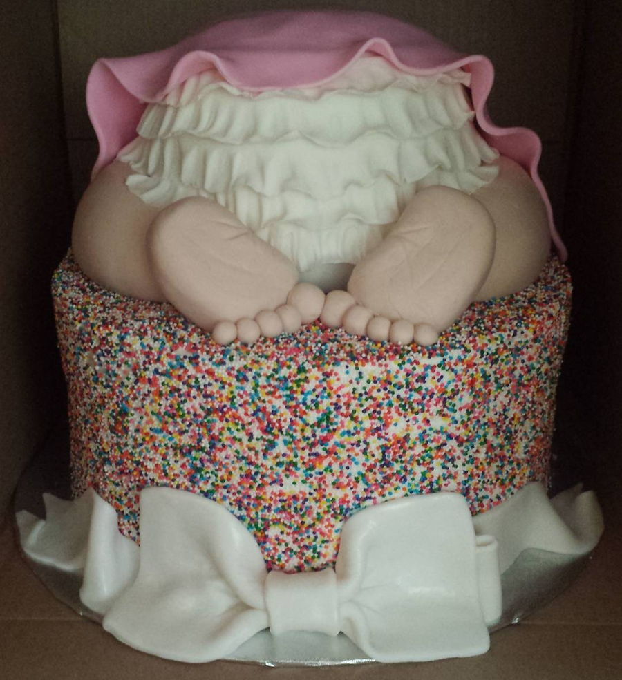 Baby Bottom on Cake Central