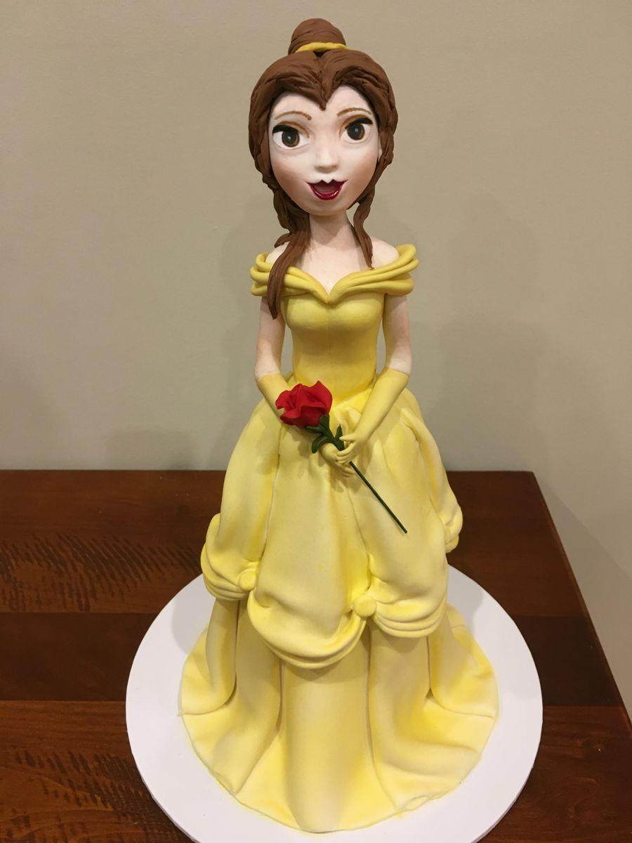 Belle Doll Cake CakeCentralcom